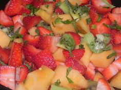Farrah's Food Adventures: Radiance Fruit Salad