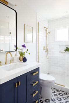 52+ Blue And White Bathroom ( CALM & RELAXING ) - Bathroom Ideas
