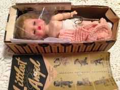 1950s R & B ARRANBEE LITTLEST ANGEL IN ORIGINAL BOX WITH BOOKLET