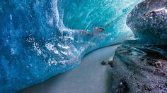 An ice tunnel inside Matanuska Glacier, Alaska - Bing Wallpaper. Bing daily images are all in bing. Provides Bing daily wallpaper images gallery for several countries. Glacier Bay Alaska, Lake Mead, Alaska Travel, Alaska Usa, Alaska Trip, Valley Of Fire, Us Road Trip, Us National Parks, Travel And Leisure