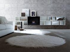 #Valpietra veste in pochi semplici passaggi le pareti degli spazi living più sofisticati - collezione Alessandria www.valpietra.com #design #interiors #tiles