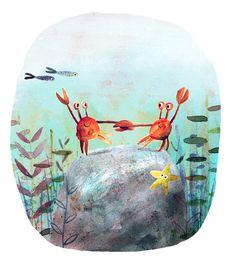 Illustration   Richard Smythe Artwork Watercolor Illustration Children, Children's Book Illustration, Illustration Styles, Book Illustrations, Sea Life Art, Magazine Collage, Sketchbook Inspiration, Les Oeuvres, Drawings