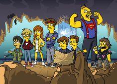 The Goonies Simpsonized by ADN-z.deviantart.com on @DeviantArt