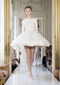 Wedding dress from the Delphine Manivet 2013 bridal collection | junebugweddings.com