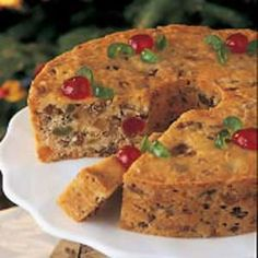 Coconut Fruitcake Ingredients cup butter, softened 1 cup Imperial Sugar® / Dixie Crystals® Granulated Sugar 3 eggs 1 teaspoon lemon extract 2 cups all-purpose flour 1 teaspoon baking powder 1 t… Cupcakes, Cupcake Cakes, Fruit Cakes, Bundt Cakes, Christmas Desserts, Christmas Baking, Christmas Cakes, Kolaci I Torte, Brownie