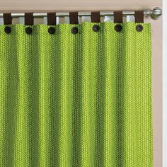 Ikal Lime Green Curtains Set