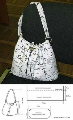 Included for idea. (Site in Russian.) Why not do a purse with signatures of composers or writers or authors?