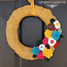 NatSprat: Blow Away-less Spring Wreath