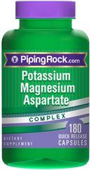 Potassium Magnesium Aspartate Complex 180 Capsules