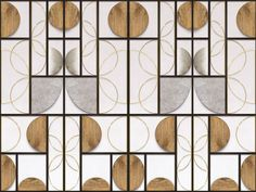 OPTONE - Wall coverings / wallpapers from Inkiostro Bianco Partition Screen, Partition Design, Divider Screen, Mirror Panels, Metal Panels, Window Glass Design, Japanese Screen, Tv Furniture, Wine Wall