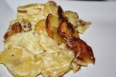 Silloin kun ne on hyvin tehtyjä. Gourmet Recipes, Cooking Recipes, Potato Recipes, Potato Salad, Feta, Side Dishes, Food And Drink, Potatoes, Chicken