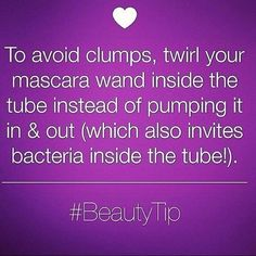 Very important tip to follow! https://www.facebook.com/youniquelyel https://www.youniqueproducts.com/elsextravaganteyes