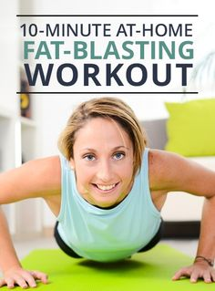 Get an amazing workout in without a gym with this challenging at-home workout.