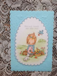 Betsey Clark Vintage Easter Card