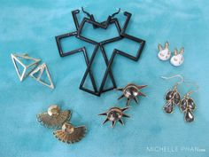Statement Earrings by Ever Eden - would love to have any of these