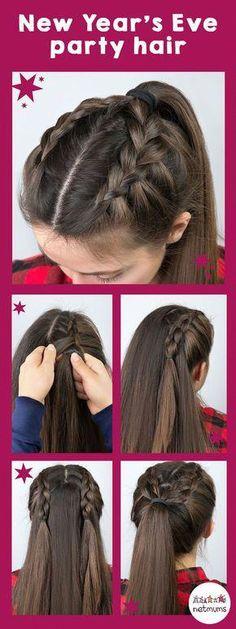 Simple Hair Tutorials, - Haar-Tutorial einfach - Your HairStyle Trendy Hairstyles, Girl Hairstyles, Wedding Hairstyles, Protective Hairstyles, Short Haircuts, Simple And Easy Hairstyles, Medium Haircuts, Creative Hairstyles, Popular Hairstyles