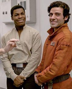"""#TheLastJedi.  Seems Finn inherited Han Solo's wardrobe contents."