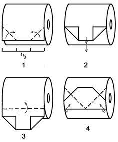 Toilet Paper Folding: The Gem