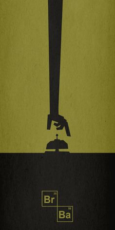 Cool Stylistic BREAKING BAD Fan Poster