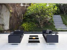 Salon de jardin design / Garden chair and sofa : http://www.maison ...