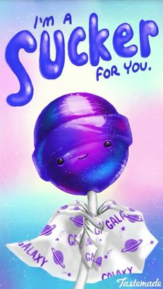 Lollipop pun/ I hope u stick with the account Funny Food Puns, Punny Puns, Cute Puns, Corny Jokes, Food Jokes, Cute Memes, Funny Cute, Food Humor, Hilarious