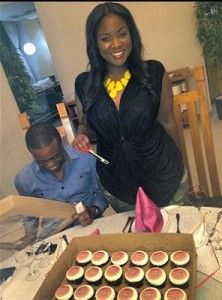 Wow! This promises to be a big birthday for Toolz O with Tunde Demuren orchestrating the whole affair. With Toolz O's birthday coming up on the 6th of July, a pre-birthday surprise dinner was organised for Toolz
