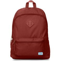 b57c1b54b8 TOMS Tomato Red Local Backpack ($55) ❤ liked on Polyvore featuring bags,  backpacks