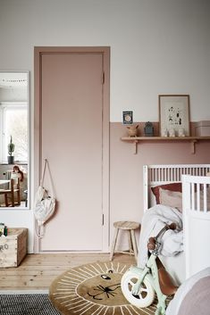Trendy Home Ideas For Kids Room Ideas Baby Bedroom, Baby Room Decor, Bedroom Wall, Girls Bedroom, Bedroom Decor, Bedroom Lighting, Design Bedroom, Kids Room Design, Trendy Home