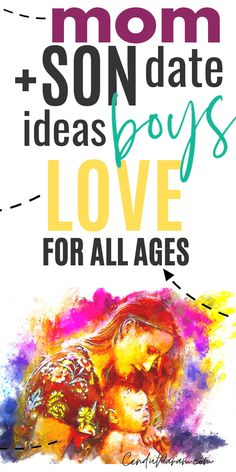 75 MOM & SON DATES BOYS LOVE! - - Perfect mom and son bonding ideas for your mom and son bucket list. Try these epic dates with your child and make memories! Mommy And Son, Mom Son, Mother Son, Mother Daughters, Kid Dates, Toddler Activities, Outdoor Activities, Raising Boys, Kids And Parenting