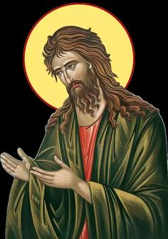Icon Clothing, Greek Icons, Jean Baptiste, Byzantine Icons, Orthodox Christianity, Archangel Michael, John The Baptist, Religious Icons, Art Icon