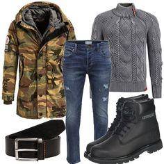 4ae22ecbc39c Khujo Parka JOHN Outfit Männer für Herren zum Nachshoppen auf Stylaholic