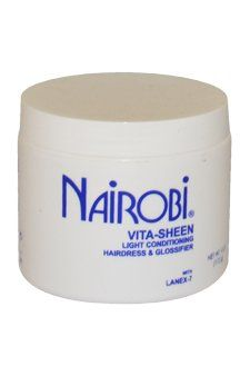 Nairobi VitaSheen Light Conditioning Hairdress and Glossifier 4 Ounce * Read more at the image link.