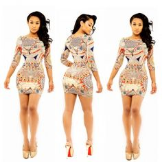 2015 Printing fashion dress sexy Lady costumes dress Sexy lingerie for Party night club dress