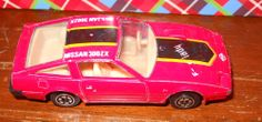 Yatming #1027 Nissan Fairlady Z 300ZX Red 1980s Z31 Series 1/64 Diecast