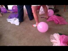 Pop the Balloon Shower Game for About to Pop Baby Shower