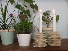 Ceramic Candle holderContemporary ceramic Ceramic by bininaor