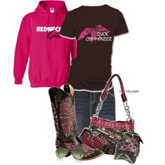 """redneck girl"" by countrygirl99 on Polyvore @DeShana Rader I pinned this just for you!"