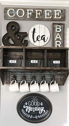 home coffee bar station ~ home coffee bar ; home coffee bar ideas ; home coffee bar station ; home coffee bar ideas small spaces ; home coffee bar diy ; home coffee bar on counter ; home coffee bar joanna gaines ; home coffee bar ideas joanna gaines Coffee Nook, Coffee Bar Home, Home Coffee Stations, Coffee Wine, Coffe Bar, Coffee Bar Ideas, Coffee Area, Coffee Bars In Kitchen, Coffee Bar Signs