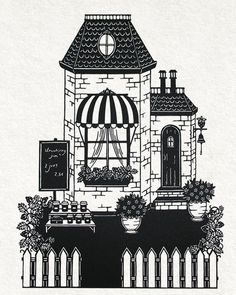 The confiture shop by PaperTales on DeviantArt