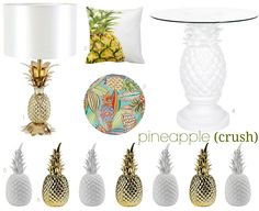 pineapple crush | the best in home decor  | via bungalow m