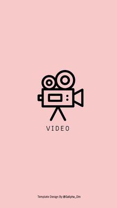 V I D E O Baby Pink Instagram Highlight covers by @sallyha_din www.instagram.com/sallyha_din www.sallyhadin.com
