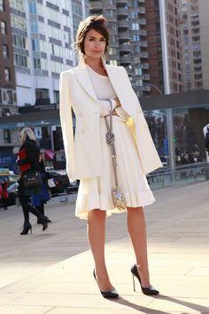 Street Style en la Semana de la Moda de Nueva York: Miroslava Duma