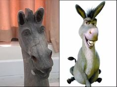 An ancient ceremic horse goes viral on China's social media for its uncanny resemblance to the Donkey in animated film #Shrek.