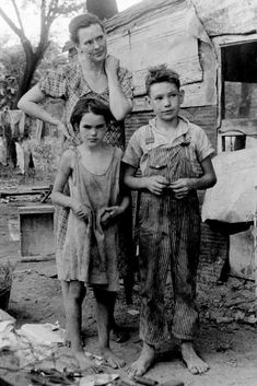 Which families became rich during the Great Depression?