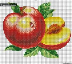 1 million+ Stunning Free Images to Use Anywhere Cross Stitch Fruit, Cross Stitch Kitchen, Cross Stitch Flowers, Modern Cross Stitch, Cross Stitch Kits, Cross Stitch Charts, Cross Stitch Designs, Crochet Cross, Filet Crochet