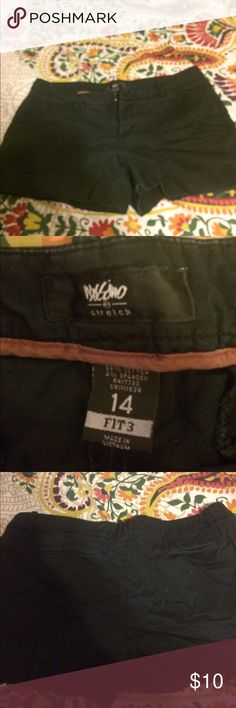 Mossimo womens black shorts Gently worn Mossimo Supply Co Shorts