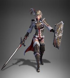Lu lingqi's new design from dynasty warriors 9