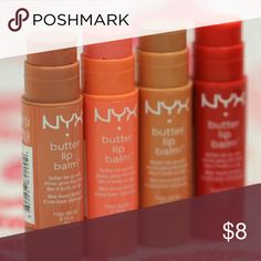 Nyx Butter lip balm in Brownie Nyx Butter lip balm in Brownie NYX Makeup Lip Balm & Gloss