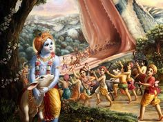 Krishna Lilas - The Nectarian Pastimes of the Sweet Lord Hare Krishna, Krishna Lila, Krishna Radha, Krishna Birth, Lord Krishna Images, Krishna Pictures, Leelah, God Pictures, Hindu Art