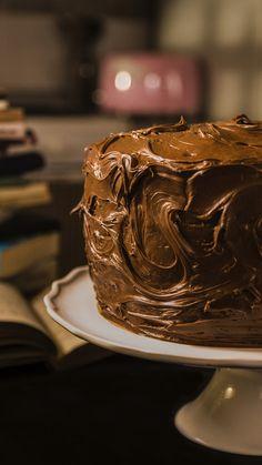 Matilda Cake Recipe, Torta Matilda, Chocolate Cake Recipe Videos, Chocolate Desserts, Chocolate Chip Cookies, Chocolate Cadbury, Gourmet Desserts, Health Desserts, Easy Desserts